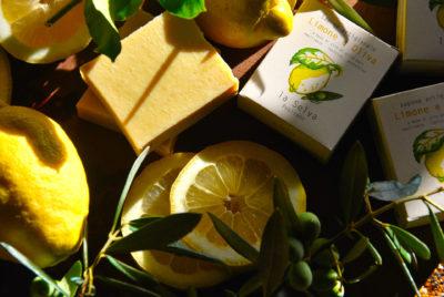 sapone solido limone ed oliva