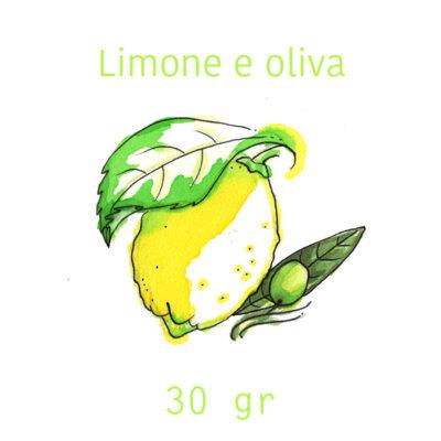 sapone solido limone e oliva