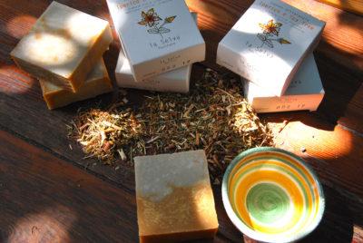 Sapone solido Iperico e Tea Tree - 100 g - La Selva Positano