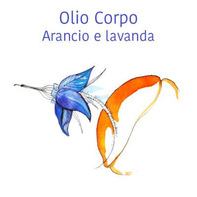 Olio corpo Arancio e Lavanda - 100 ml - La Selva Positano (Copia)