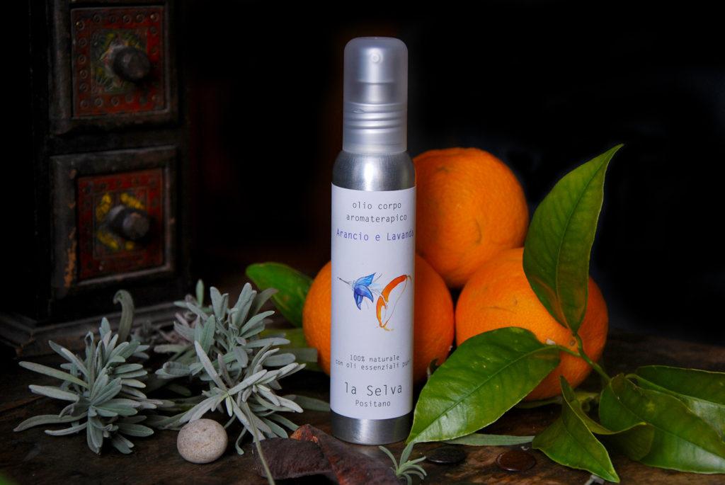 Olio corpo Arancio e Lavanda - 100 ml - La Selva Positano