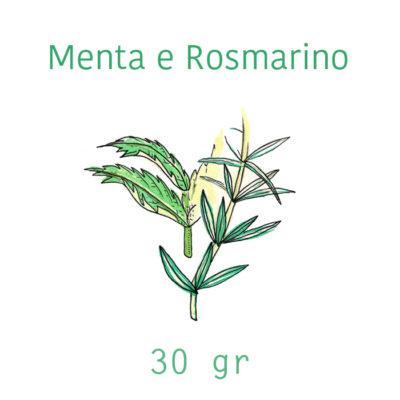 Sapone solido Menta e Rosmarino - 30 g - La Selva Positano