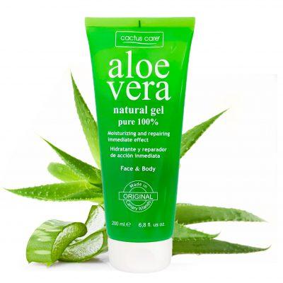 Gel di Aloe Vera lenitivo